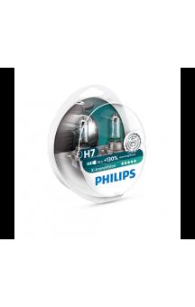 X-tremeVision галогенные лампы, Phillips, H7, 2шт