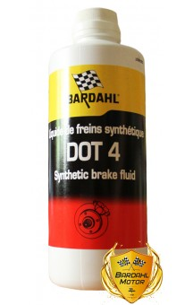 Bardahl Brake Fluid DOT 4, 500 мл.