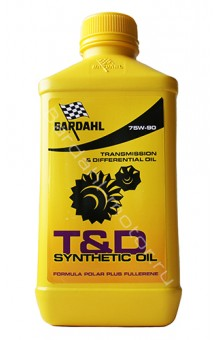T&D Synthetic Oil 75W90, 1 л.