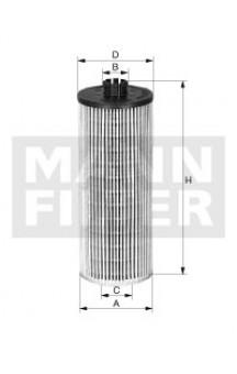 HU6018z Фильтр масляный MANN-FILTER