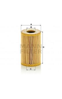 HU7008Z Масляный фильтр MANN-FILTER