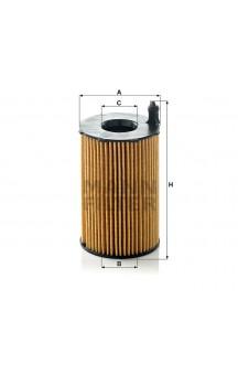 HU8005Z Фильтр масляный MANN-FILTER