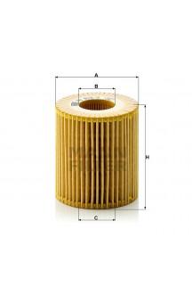 HU815/2X Масляный фильтр MANN-FILTER