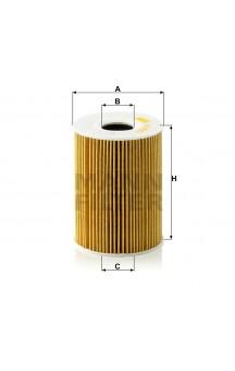 HU 9001 X Фильтр масляный MANN-FILTER