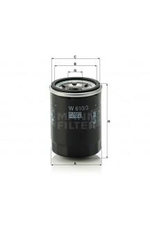 W610/3 Масляный фильтр MANN-FILTER