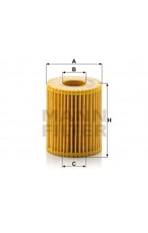 HU7009z Масляный фильтр MANN-FILTER