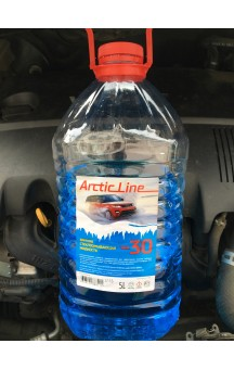 Жидкость стеклоомывающая ArcticLine, до -30 град., 5л.